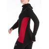 Aclima W's Warmwool Hood Sweater Black/Cerise